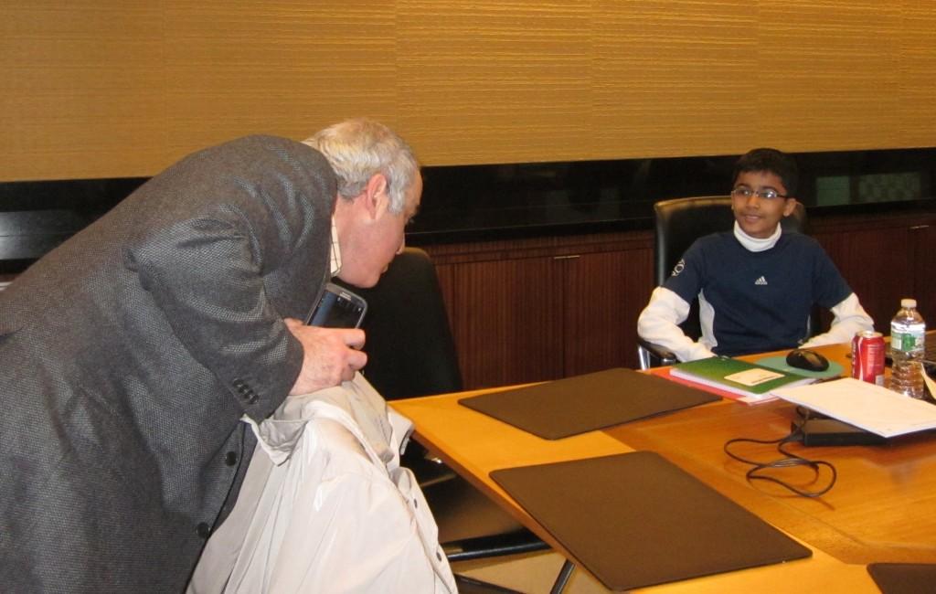 Akshat Chandra and Garry Kasparov 3