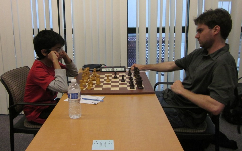 New York International - Akshat Chandra Vs GM Sam Shankland