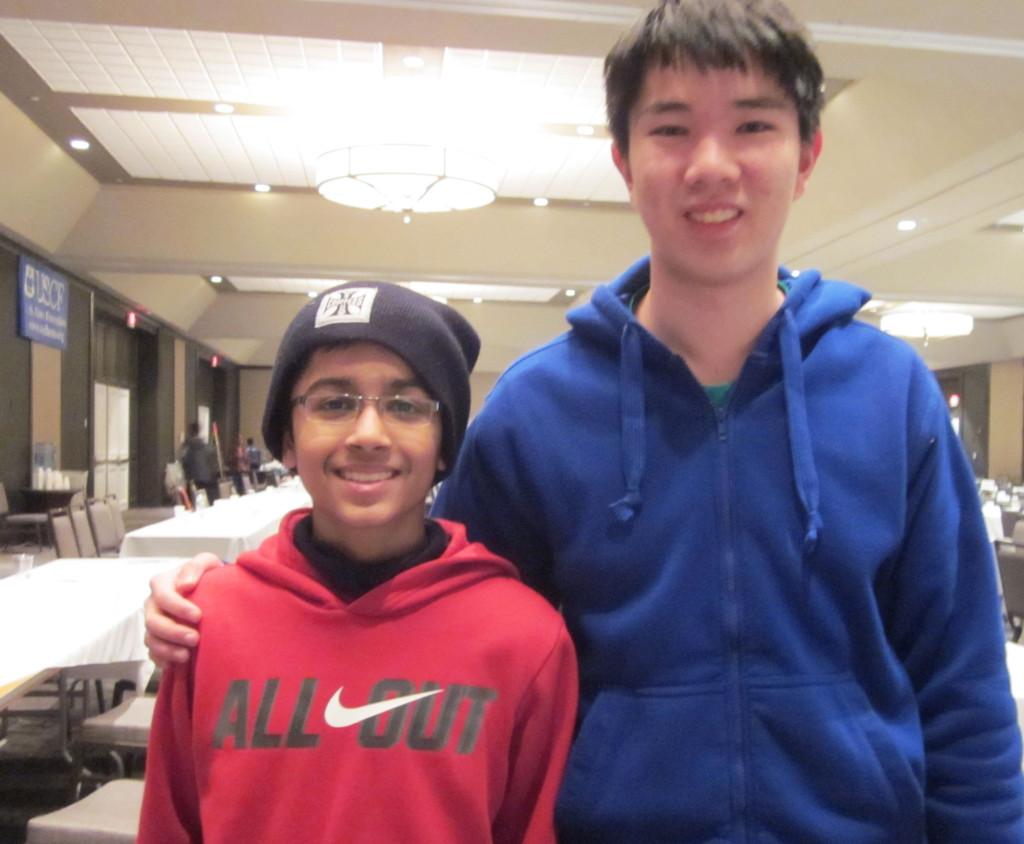 Akshat Chandra and Grant Xu