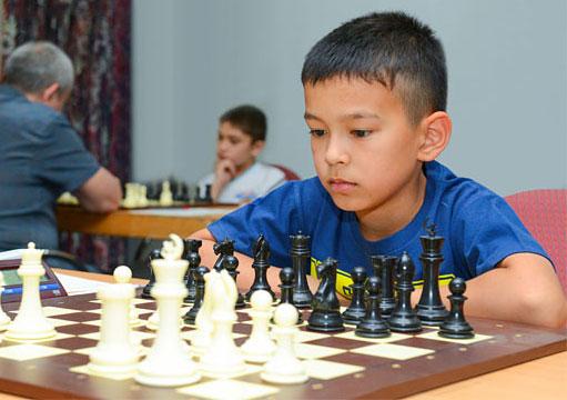 9-year old FM Nodirbek Abdusattorov