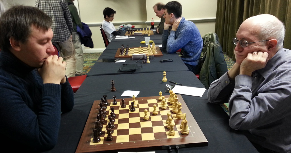 GM Lawrence Kauffman and GM Gata Kamsky
