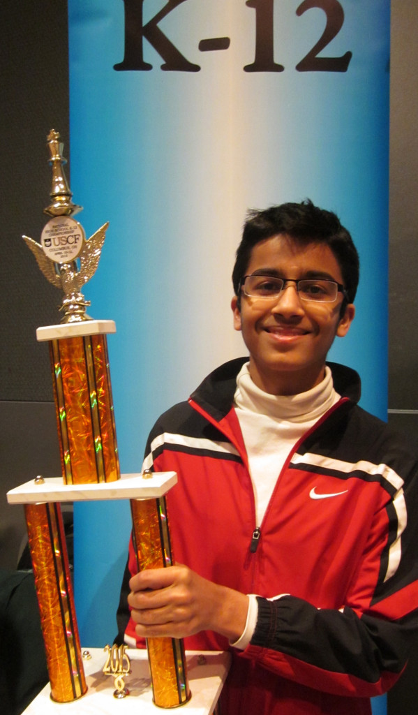 Akshat Chandra - 2015 National HIgh School Champion K-12 section