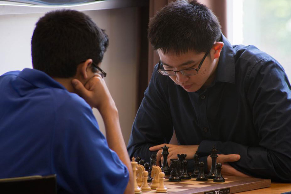 Akshat Chandra playing Arthur Shen in Round 8